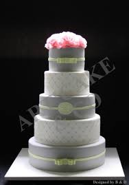 wedding cake green grey and green wedding cake flickr