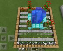 minecraft interior design how to grow a garden in minecraft pe home outdoor decoration