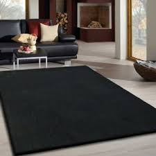 Solid Black Area Rugs Solid Area Rugs Area Rugs Solid Black Lurex Shag Ultra Modern