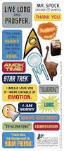 trek mr spock greeting card u0026 stickers