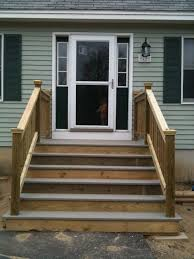 wooden mobile home steps designs homepeek