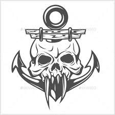 anchor and skull discover more ideas about anchor and icon