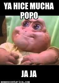 Popo Meme - beb礬 consentido memes costa rica