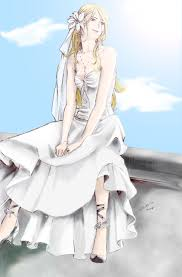 wedding dress anime fleur wedding dress nami86 by maemaetwin on deviantart