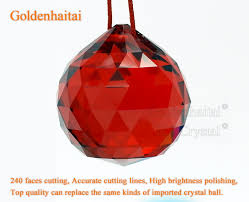 Crystal Chandelier Ball Crystal Faceted Ball Chandelier Parts Ball Crystal Ball
