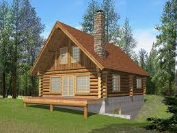 Walkout Basement Home Plans Vibrant Design House Plans Log Cabin Style 12 Cabin Style Home
