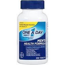 men s amazon com one a day men s health formula multivitamin 200 count