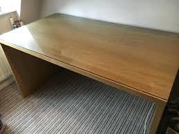 wood desk with glass top decoration wood desk with glass top oak veneer solid wood desk
