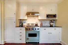 Flat Kitchen Cabinets Traditional Kitchen With Stone Tile By Rw Anderson Construction