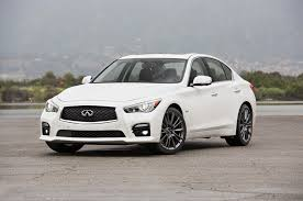2016 infiniti q50 red sport 400 first test track testing the most