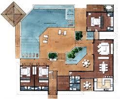 remarkable resort style residential floor plans floor plans