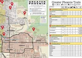 phx map maps greater trail guides maps