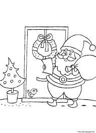 list santa claus s84c0 coloring pages printable