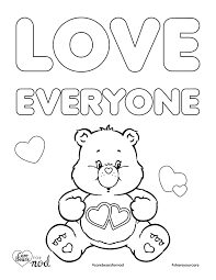 care bears coloring pages contegri com