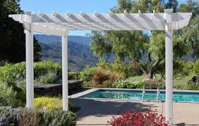 pergola images about outdoor pergola also patio white trends