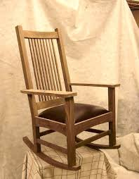 Mission Style Rocking Chair Vintage Style Rocking Chair Rocking Chair Vintage Style Rocking