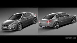 peugeot luxury sedan 3d model peugeot 508 sedan 2015 cgriver com youtube