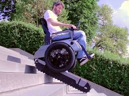 How To Train For Stair Climb by Electric Stair Climbing Wheelchair Business Insider