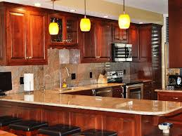 Simple Kitchen Design Ideas With Cherry Cabinets Day This Small - Light cherry kitchen cabinets