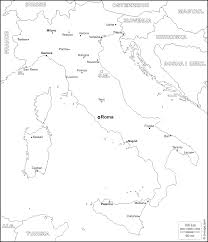 Map Italy Cities by Italy Free Map Free Blank Map Free Outline Map Free Base Map