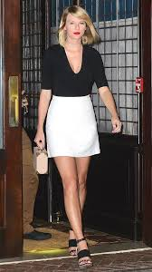 love her star style to steal white mini skirts taylor
