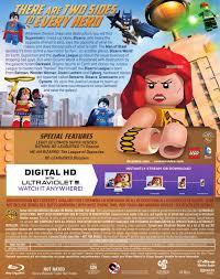 lego movie justice league vs blu ray dvd packaging for lego dc justice league vs bizarro league