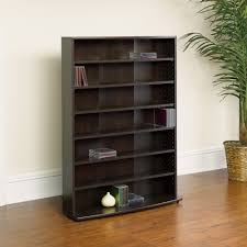 Dvd Shelf Wood Plans by Sauder O U0027sullivan Multimedia Storage Tower Cinnamon Cherry