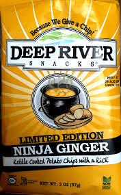 review deep river snacks limited edition u2013 ninja ginger kettle