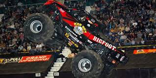 bigfoot monster truck driver feel the roar monster trucks returning to salisbury