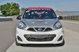 subcompact cars 2016 nissan micra cup proves you can race a cheap car with no