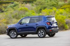 convertible jeep blue 2017 jeep renegade sport 4x4 review long term arrival