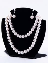 long necklace pearl images White pearl long necklace 11mm hop jpg
