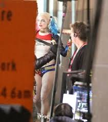 Pepe Mendoza Bodybuilder - margot robbie as harley quinn with bat and tattoos in 39 suicide