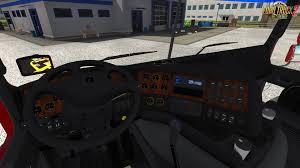 kenworth truck interior kenworth k200 interior v14 0 1 27 x updated for ets 2