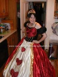 Halloween Costumes Queen Hearts Cool Homemade Queen Hearts Halloween Costume Halloween
