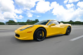 rent a 458 rent a 458 italia in miami fl