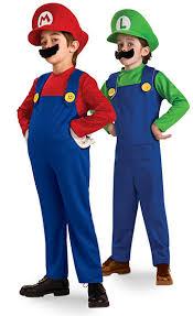 Mario Costumes Halloween Geeky Kids Costumes Halloween