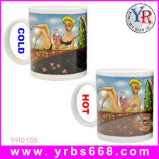 custom heat sensitive mug color change ceramic mug