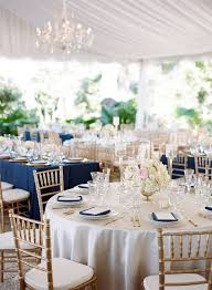 Wedding Reception Vases Polished Navy Gold And Blush Reception Decor