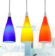 Colored Glass Pendant Lights Lighting Design Ideas Colored Glass Pendant Lights Three Color