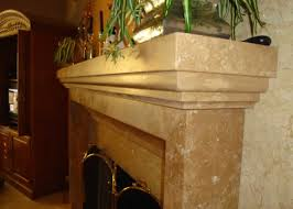 Travertine Fireplace Tile by Light Travertine Fireplace Millestone Marble U0026 Tile