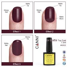 aliexpress com buy canni matt uv gel polish matte top coat soak
