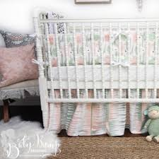 baby crib bedding sets for girls custom designer nursery