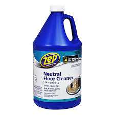 shop zep commercial neutral floor cleaner concentrate 128 fl oz