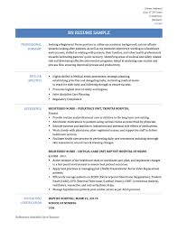 Sample Resume For Pediatric Nurse by Nurse Resume Template Best Free Resume Collection