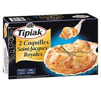cuisiner les coquilles st jacques surgel s coquilles cuisinées tipiak