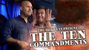the ten commandments the skit guys