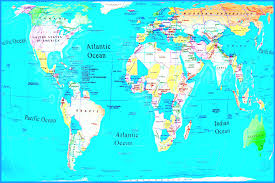 World Map With Seas by World Maps With Countries For Kids Best Photos Of Map Continents
