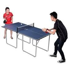 joola midsize table tennis table with net joola midsize table tennis table with net and post set in blue gray