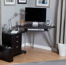 Desk In Small Space Furniture Modern Small Computer Desk With Glass Top Small